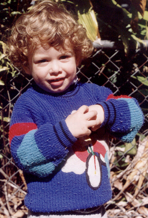 Andrew - aged 2 years 1997