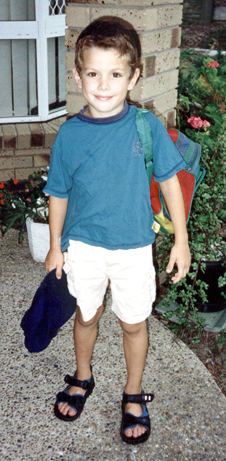 Andrew - aged 5 years 2000