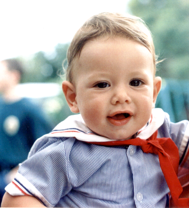 Andrew - aged 9 mths 1996