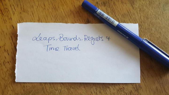 Leaps, Bounds, Regrets & TimeTravel