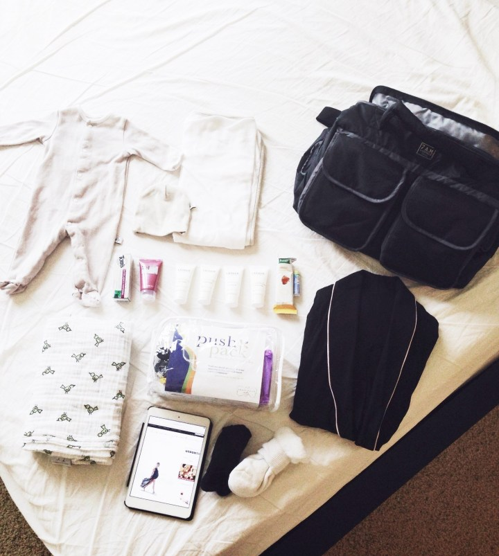 Mama's Hospital Bag Necessities | What To Pack